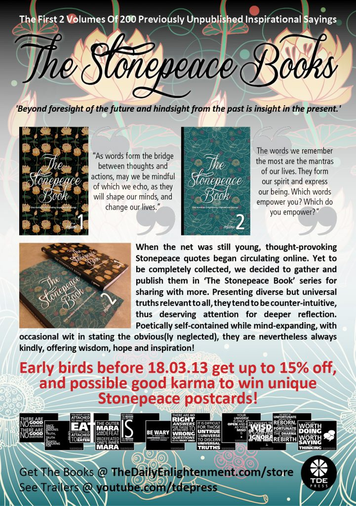 Launch Of The Stonepeace Book Vol 1 & 2